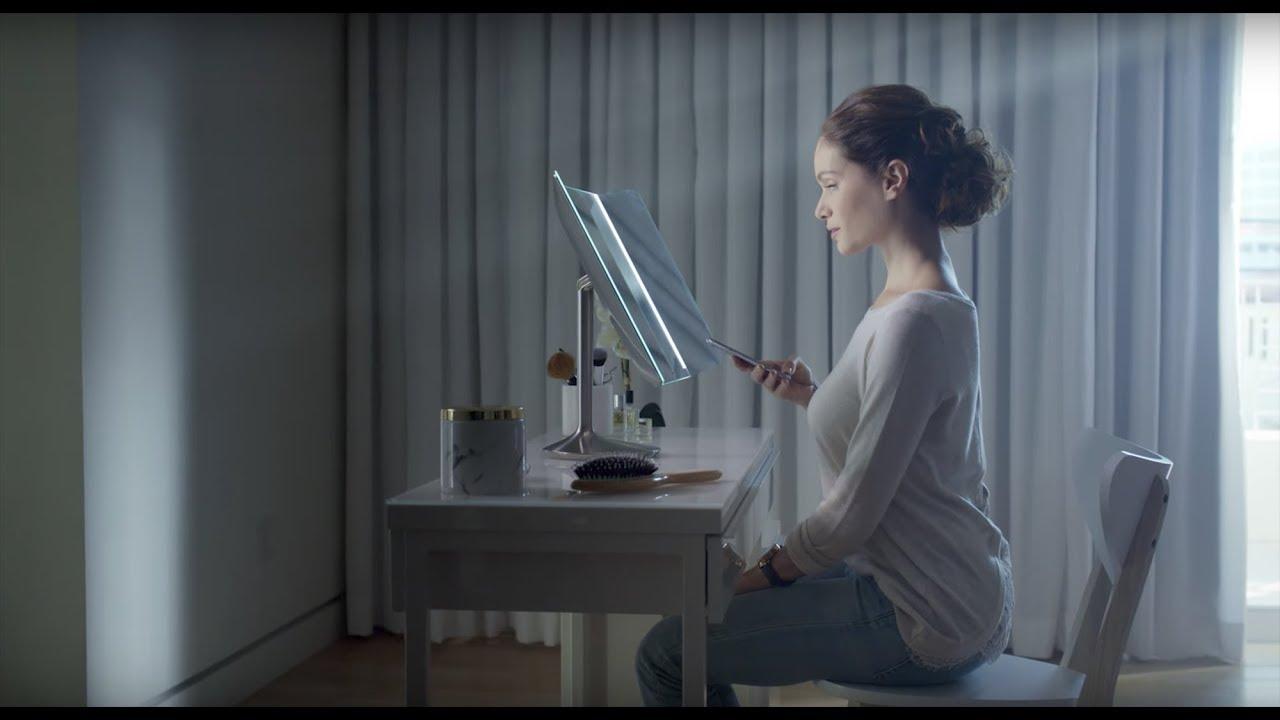 Simplehuman Wide View Sensor Mirror Youtube