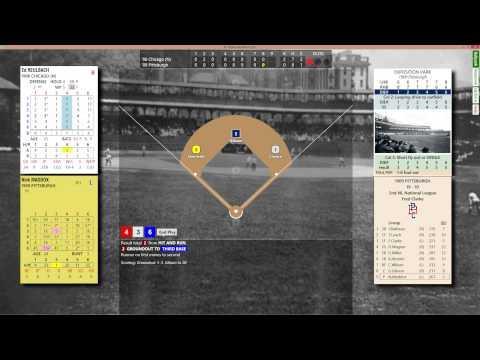 1906 Cubs vs. 1909 Pirates - Reulbach No Hit Bid