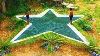 Build Underground Star Swimming Pool (Full)