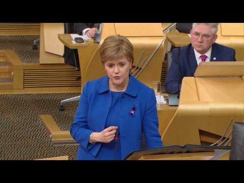 First Minister's Questions - Scottish Parliament: 23rd February 2017