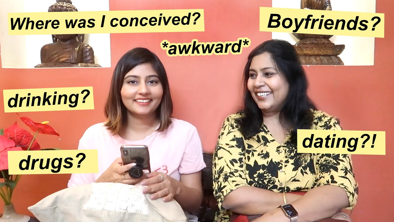 Asking my MOM questions you're too scared to ask yours! | Kritika Goel