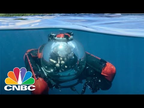 Take An Adventure To The Ocean Floor In This $2.2 Million Three-Person Submarine | CNBC