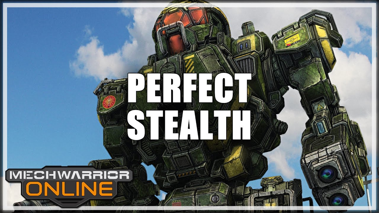 Theb33f Perfect Stealth Mechwarrior Online Youtube