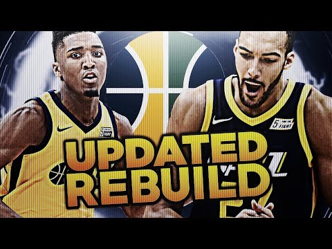 MY FAVORITE TEAM EVER? UPDATED JAZZ REBUILD! NBA 2K18