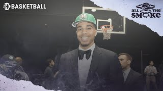 Jayson Tatum Wanted To Go To The Suns Before Being Drafted By The Celtics | ALL THE SMOKE