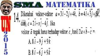 Video vektor tegak lurus , un matematika ipa sma 2015 pembahasan  no 14 download MP3, 3GP, MP4, WEBM, AVI, FLV Juni 2018