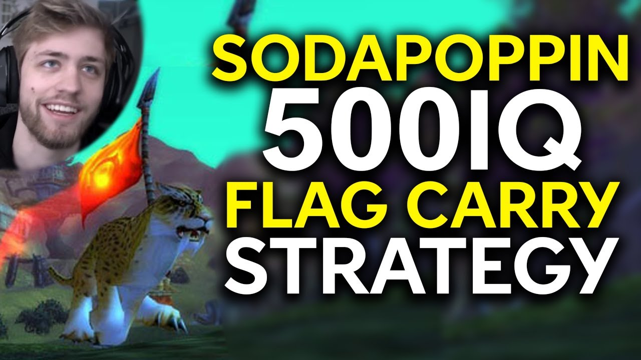 Sodapoppin Brilliant Flag Carry Trick - WoW Classic Highlights Ep. 26