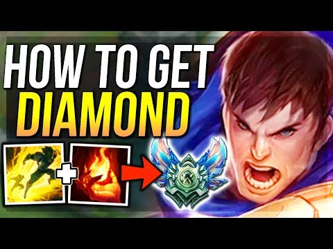 HOW TO GET DIAMOND! THIS IS HOW YOU WILL ACTUALLY GET THERE! - League of Legends
