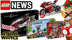 Viele neue 2020 LEGO Set Bilder! | Star Wars UCS, Super Mario & Technic | NEWS