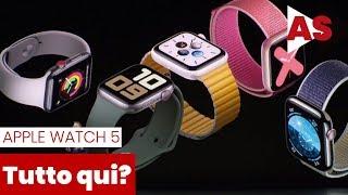 Presentazione Apple Watch 5