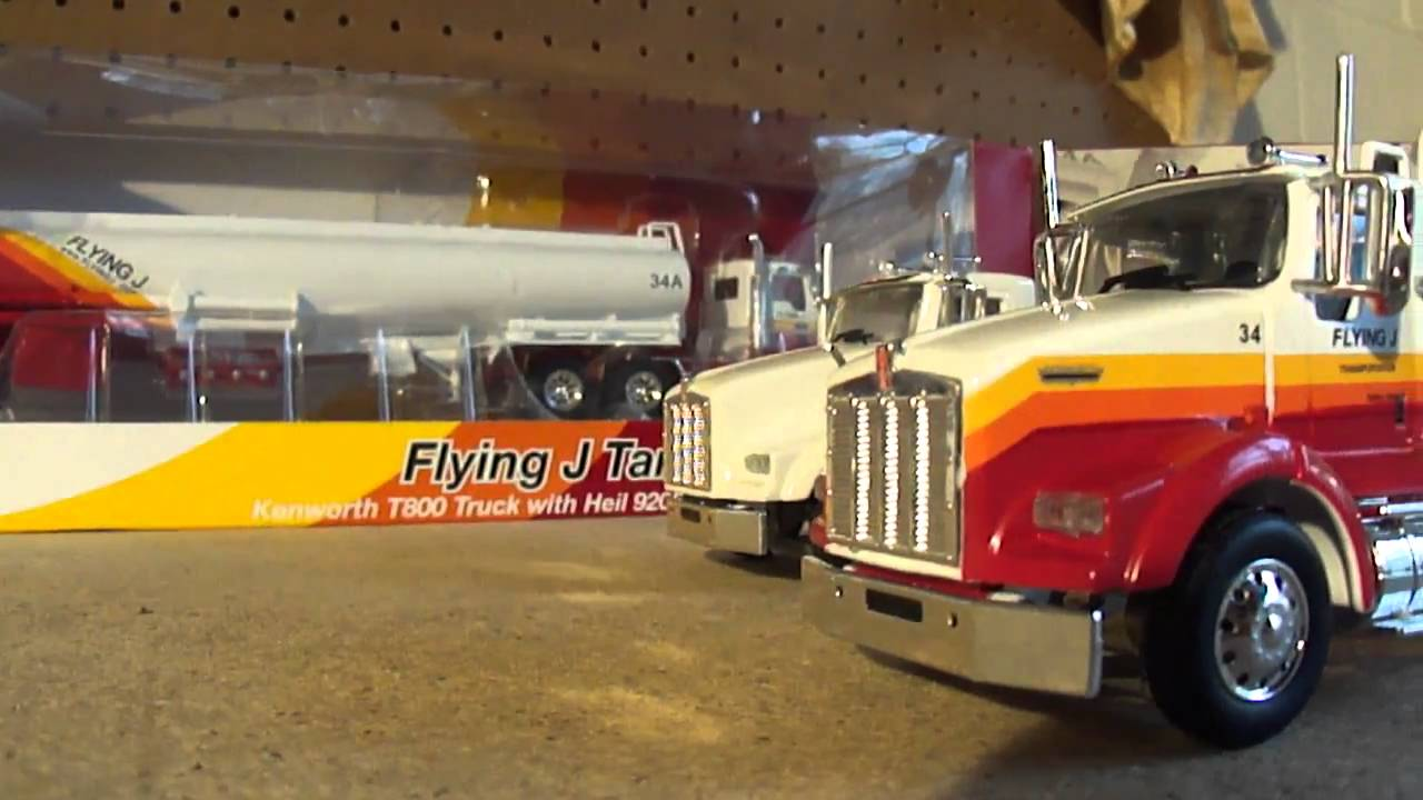 Model Review 1 50 Kenworth T800 Tanker Youtube
