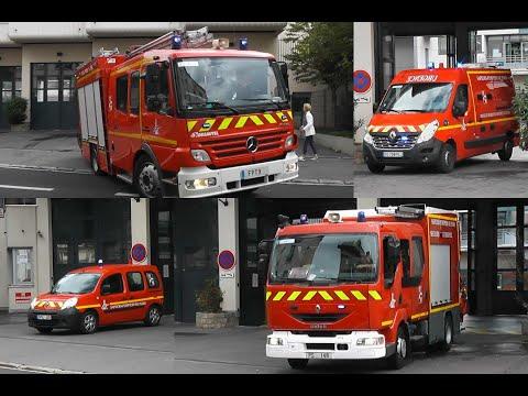 (Paris Fire Brigade) Nouveau VSAV + PS 148 + FPT 9 + SPVL 248 BSPP