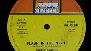 Public Passion - Flash in the Night (1986) (Italo-Disco)