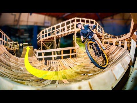 The Worlds Longest Indoor Mountain Bike Trail
