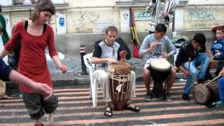 Origin project _ Your brain on drums 2 (Street Delivery Bucuresti 2011).AVI