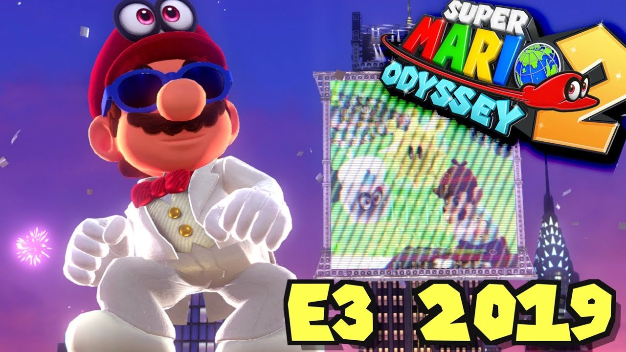 The Mario Odyssey 2 Reveal Road To E3 2019