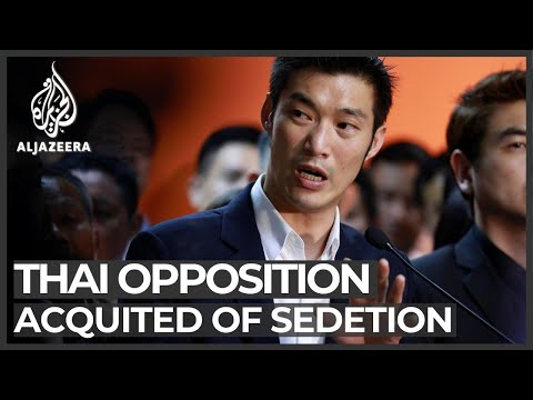 Thai court finds opposition party not guilty of sedition charge