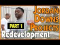Tour the demolition site of the Jordan Downs Housing projects and new construction (pt.1of2)