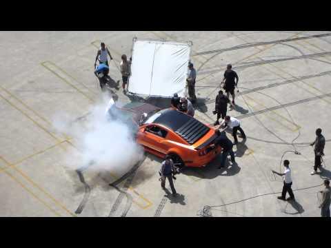Bieber Drifting [Making of the Official 'Boyfriend' Music Video.]
