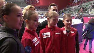 Российские фигуристы начали выступать на финале Гран при в Турине