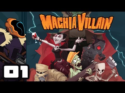 Let's Play MachiaVillain - PC Gameplay Part 1 - A Villain Worthy Of His Name...