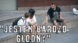 """""""Jestem bardzo głodny"""" - eksperyment społeczny / Z Dobrym Słowem"""