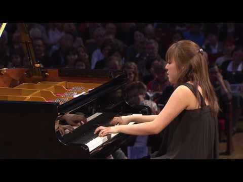 Kana Okada – Etude in G sharp minor, Op. 25 No. 6 (first stage, 2010)