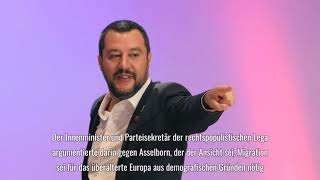 Matteo Salvini und Jean Asselborn geraten bei Ministertreffen aneinander
