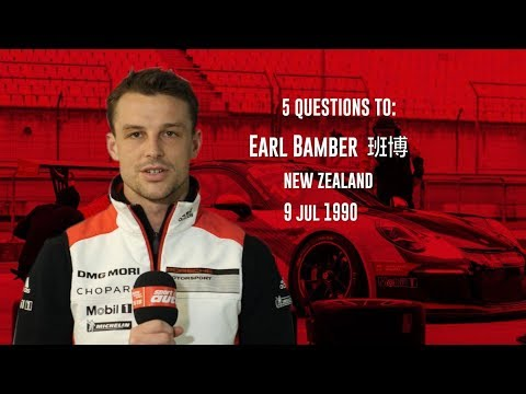 5 Questions to Race Driver Earl Bamber