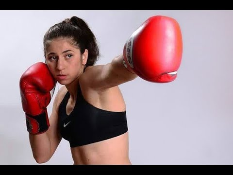 Israeli women Kickboxer Nili Block |
