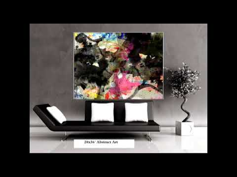 Handmade Modern Abstract Oil Painting For Wholesale