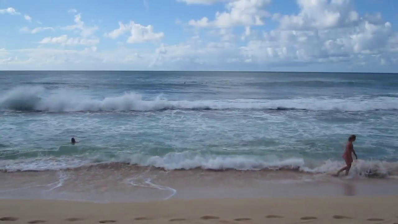 Sunset Beach Waves North S Oahu Hawaii October 2017