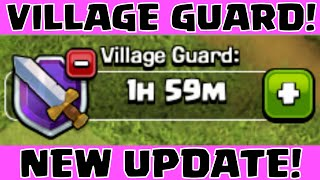 Clash of Clans NEW VILLAGE GUARD WORLD PREMIERE ★ COC TOWN HALL 11 2015 WINTER UPDATE SNEAK PEEK ★