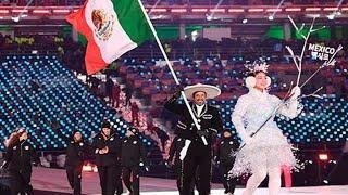 Desfile de México Inauguración Juegos Olímpicos Invierno 2018 Corea del Sur Mejores Momentos México