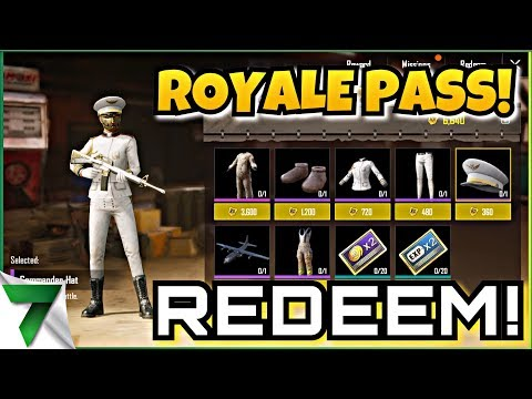 ROYALE PASS REDEEM GIFTS!! FPP GRIND!!  | PUBG MOBILE
