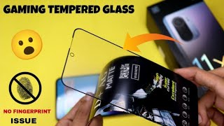 Gaming Tempered glass For Mi 11x/Mi 11x Pro ⚡⚡ Best Tempered Glass Mi 11x - Mi 11x Smoke Cover