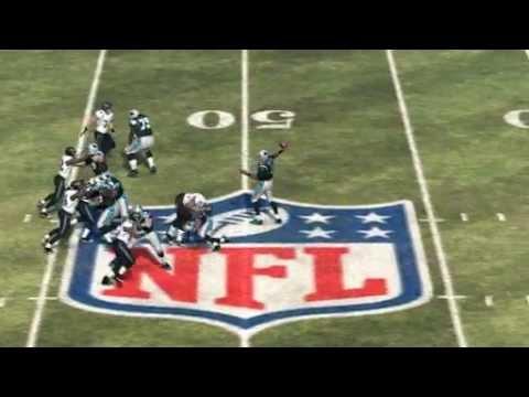 Cam Newton Intercepted by Paul Posluszny