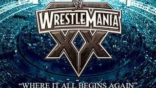 10 YEARS AGO EPISODE 71 - WWE WRESTLEMANIA 20