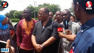 Mbunge Lijualikali akiongea na waandishi wa Habari baada ya kutoka Gerezani.