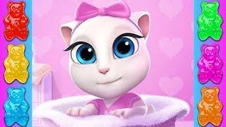 Мультик про кошечку Анжелу! Моя Говорящая Анджела  Лучшие мультфильмы для детей  Серия #2