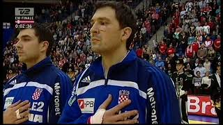 European Men's Handball Championship 2008 final, Denmark-Croatia, full match.