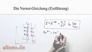 Die Nernst-Gleichung - Einführung