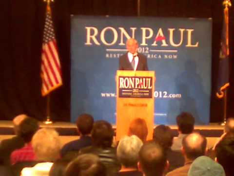 Ron Paul Speech Hudsonville Michigan 2-26-12