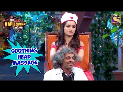 Shraddha Oils Gulati's Hair - The Kapil Sharma Show