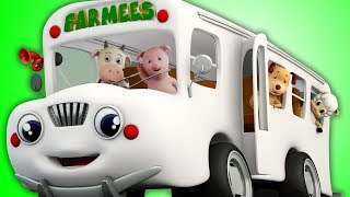 Wheels On The Bus | Nursery Rhymes And Videos For Kids