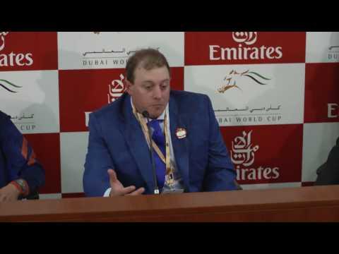 Dubai Golden Shaheen Press Conference - March 25, 2017