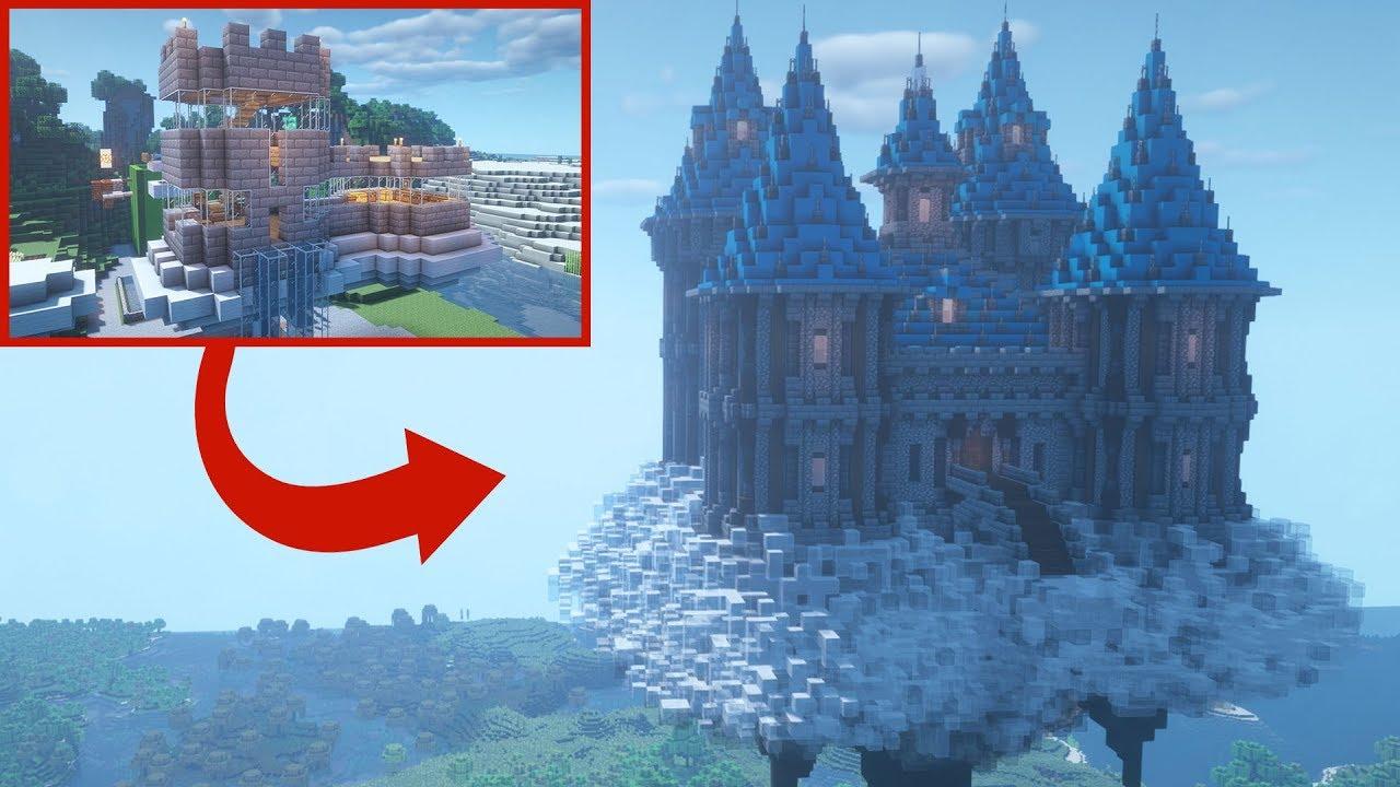 Transforming Dantdm S Minecraft Base Youtube