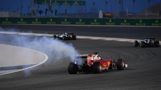 F1 New V6 Turbo Engine Failure Compilation