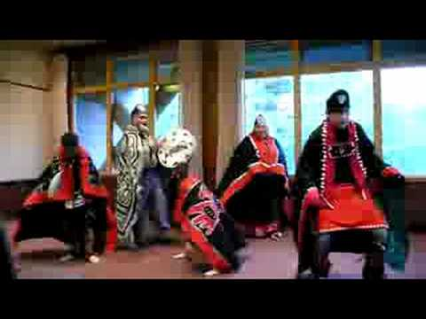 Tlingit Dancers in Ketchikan Alaska