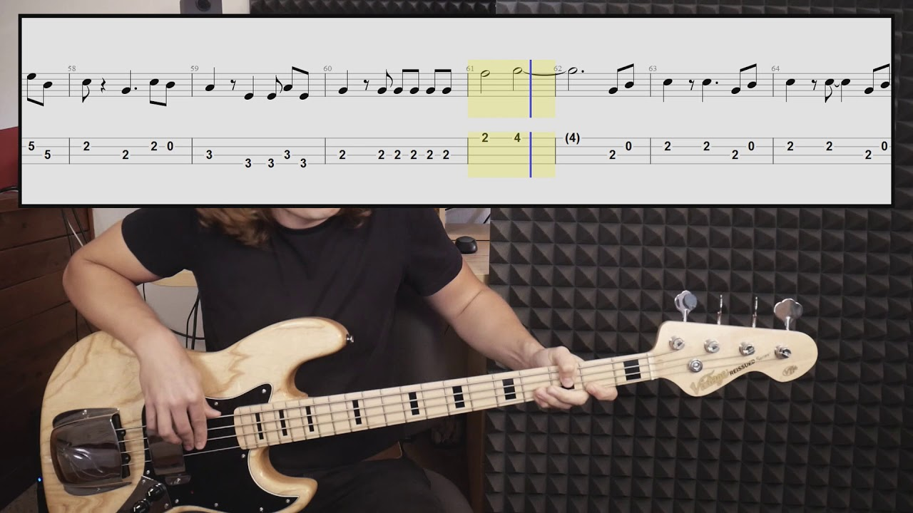 how to make bass tabs